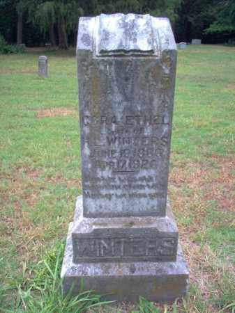 WINTERS, CORA ETHEL - Cross County, Arkansas | CORA ETHEL WINTERS - Arkansas Gravestone Photos