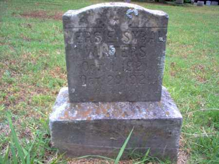 WINTERS, VERSIE SYBAL - Cross County, Arkansas | VERSIE SYBAL WINTERS - Arkansas Gravestone Photos