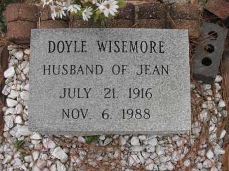 WISEMORE (VETERAN WWII), DOYLE EDWARD - Cross County, Arkansas | DOYLE EDWARD WISEMORE (VETERAN WWII) - Arkansas Gravestone Photos