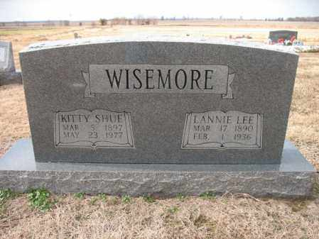 SHUE WISEMORE, KITTY - Cross County, Arkansas | KITTY SHUE WISEMORE - Arkansas Gravestone Photos