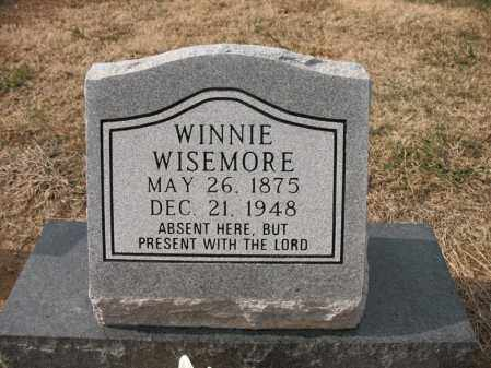 WISEMORE, WINNIE - Cross County, Arkansas | WINNIE WISEMORE - Arkansas Gravestone Photos