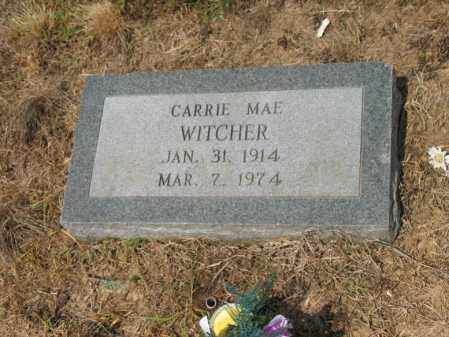 WITCHER, CARRIE MAE - Cross County, Arkansas | CARRIE MAE WITCHER - Arkansas Gravestone Photos