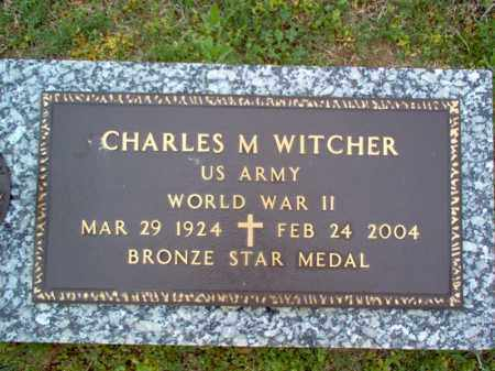 "WITCHER (VETERAN WWII), CHARLES M ""SONNY"" - Cross County, Arkansas 