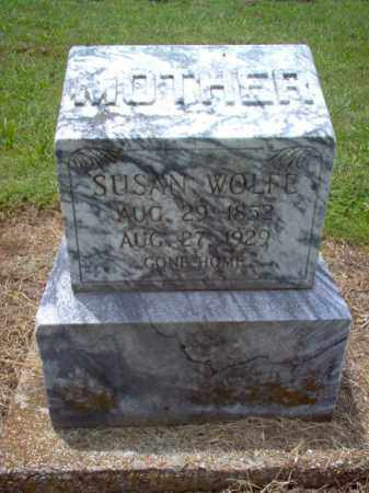 WOLFE, SUSAN - Cross County, Arkansas | SUSAN WOLFE - Arkansas Gravestone Photos