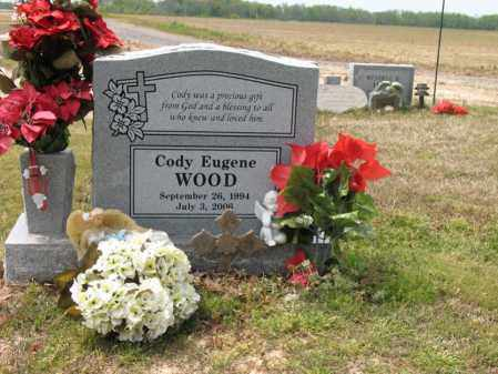 WOOD, CODY EUGENE - Cross County, Arkansas | CODY EUGENE WOOD - Arkansas Gravestone Photos