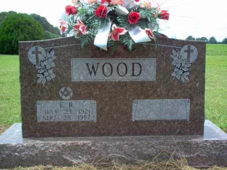 WOOD, E R - Cross County, Arkansas | E R WOOD - Arkansas Gravestone Photos