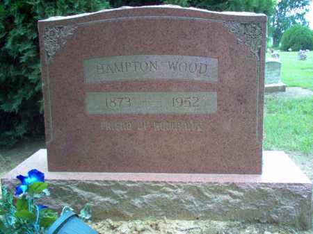 WOOD, HAMPTON - Cross County, Arkansas | HAMPTON WOOD - Arkansas Gravestone Photos