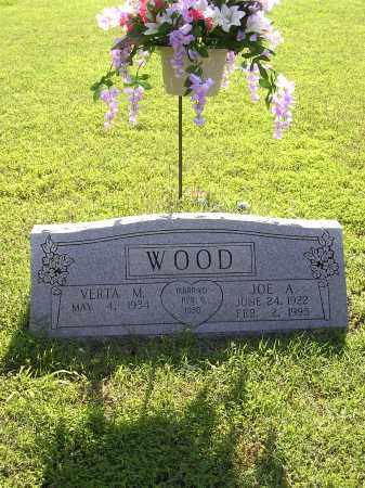 WOOD, JOE ALLEN - Cross County, Arkansas | JOE ALLEN WOOD - Arkansas Gravestone Photos