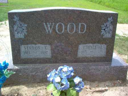 WOOD, VERNON C - Cross County, Arkansas | VERNON C WOOD - Arkansas Gravestone Photos
