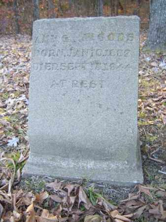 WOODS, AMY G - Cross County, Arkansas | AMY G WOODS - Arkansas Gravestone Photos
