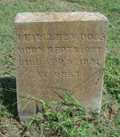 WOODS, PEARL LEE - Cross County, Arkansas | PEARL LEE WOODS - Arkansas Gravestone Photos
