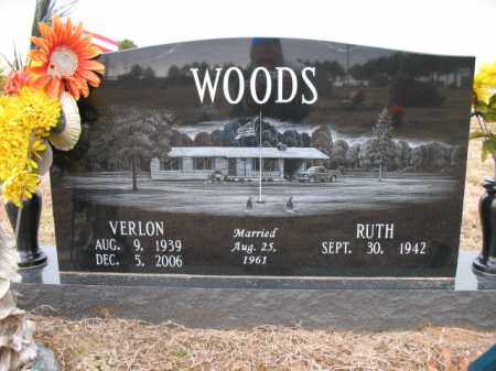 WOODS, VERLON - Cross County, Arkansas | VERLON WOODS - Arkansas Gravestone Photos