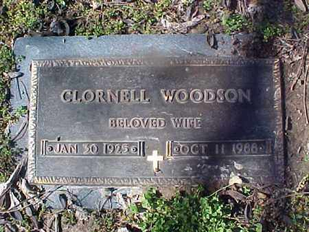WOODSON, CLORNELL - Cross County, Arkansas | CLORNELL WOODSON - Arkansas Gravestone Photos