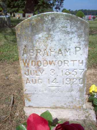 WOODWORTH, ABRAHAM P - Cross County, Arkansas | ABRAHAM P WOODWORTH - Arkansas Gravestone Photos