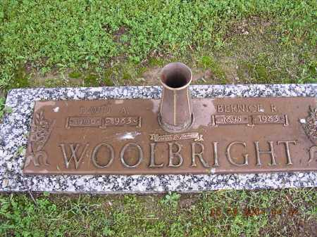 WOOLBRIGHT, BERNICE R - Cross County, Arkansas | BERNICE R WOOLBRIGHT - Arkansas Gravestone Photos