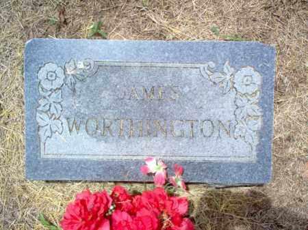 WORTHINGTON, JAMES - Cross County, Arkansas | JAMES WORTHINGTON - Arkansas Gravestone Photos