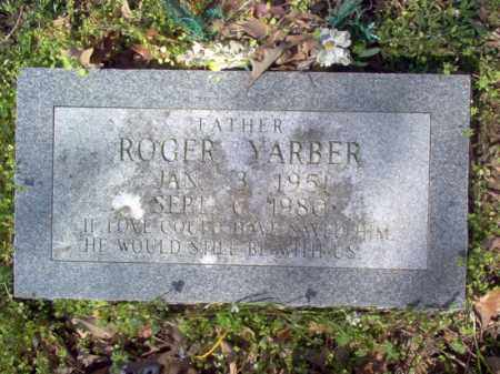 YARBER, ROGER - Cross County, Arkansas | ROGER YARBER - Arkansas Gravestone Photos