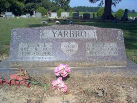 YARBRO, JESSE L - Cross County, Arkansas | JESSE L YARBRO - Arkansas Gravestone Photos