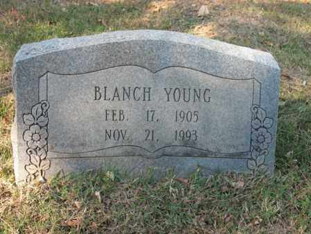 YOUNG, BLANCH - Cross County, Arkansas | BLANCH YOUNG - Arkansas Gravestone Photos