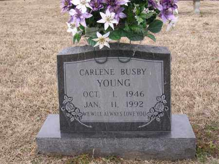 BUSBY YOUNG, CARLENE - Cross County, Arkansas | CARLENE BUSBY YOUNG - Arkansas Gravestone Photos