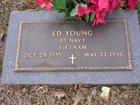 YOUNG (VETERAN VIET), ED ORAN - Cross County, Arkansas | ED ORAN YOUNG (VETERAN VIET) - Arkansas Gravestone Photos
