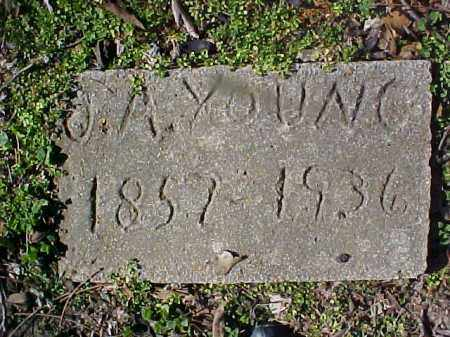 YOUNG, JAMES A - Cross County, Arkansas | JAMES A YOUNG - Arkansas Gravestone Photos
