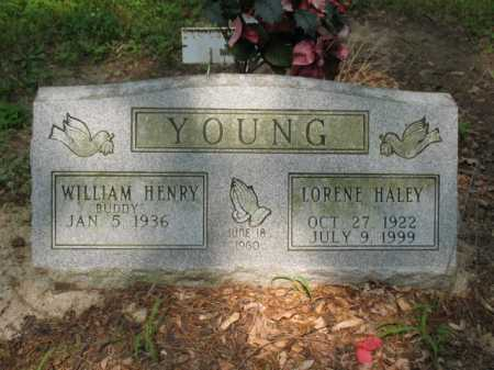 YOUNG, LORENE - Cross County, Arkansas | LORENE YOUNG - Arkansas Gravestone Photos