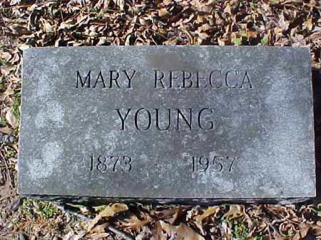 YOUNG, MARY REBECCA - Cross County, Arkansas | MARY REBECCA YOUNG - Arkansas Gravestone Photos