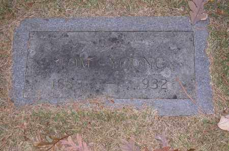 YOUNG, TOM - Cross County, Arkansas | TOM YOUNG - Arkansas Gravestone Photos