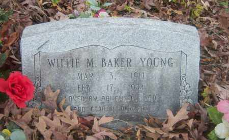 BAKER YOUNG, WILLIE M - Cross County, Arkansas | WILLIE M BAKER YOUNG - Arkansas Gravestone Photos