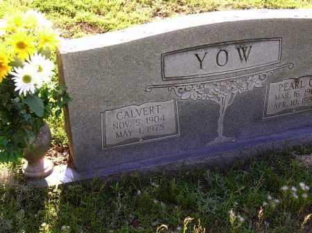 YOW, CALVERT - Cross County, Arkansas | CALVERT YOW - Arkansas Gravestone Photos