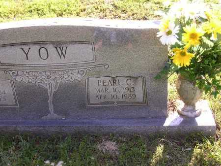 YOW, PEARL C - Cross County, Arkansas | PEARL C YOW - Arkansas Gravestone Photos