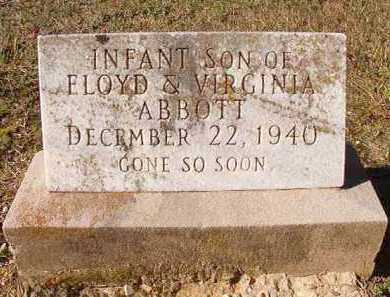 ABBOTT, INFANT SON - Dallas County, Arkansas | INFANT SON ABBOTT - Arkansas Gravestone Photos