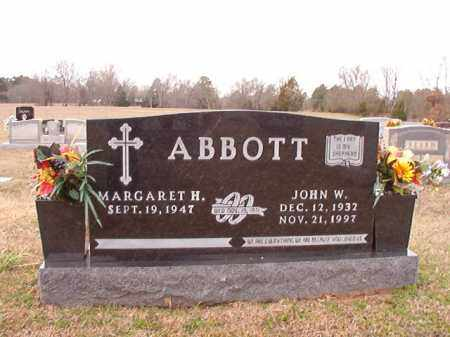 ABBOTT, JOHN W - Dallas County, Arkansas | JOHN W ABBOTT - Arkansas Gravestone Photos