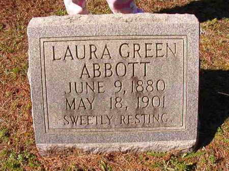 GREEN ABBOTT, LAURA - Dallas County, Arkansas | LAURA GREEN ABBOTT - Arkansas Gravestone Photos