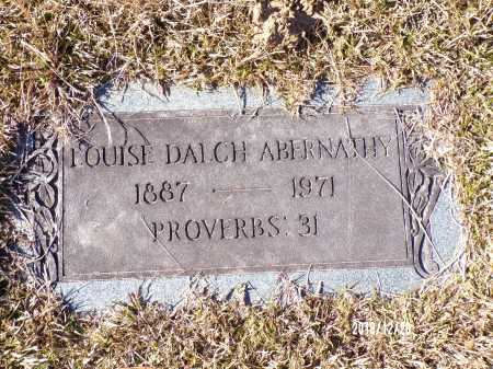 ABERNATHY, LOUISE - Dallas County, Arkansas | LOUISE ABERNATHY - Arkansas Gravestone Photos