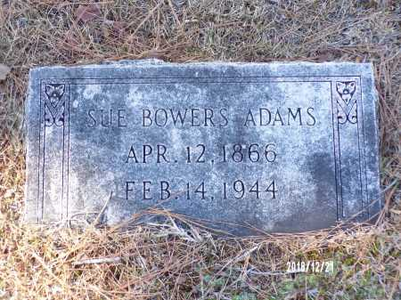 BOWERS ADAMS, SUE - Dallas County, Arkansas | SUE BOWERS ADAMS - Arkansas Gravestone Photos