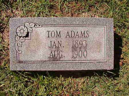 ADAMS, TOM - Dallas County, Arkansas | TOM ADAMS - Arkansas Gravestone Photos