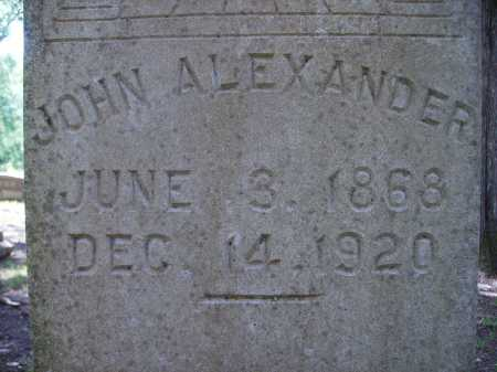 ALEXANDER, JOHN - Dallas County, Arkansas | JOHN ALEXANDER - Arkansas Gravestone Photos