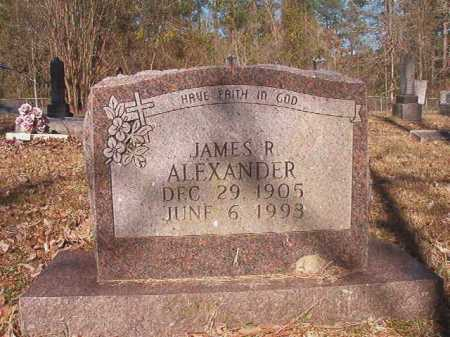 ALEXANDER, JAMES R - Dallas County, Arkansas | JAMES R ALEXANDER - Arkansas Gravestone Photos