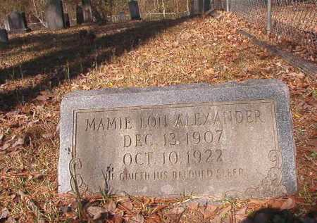 ALEXANDER, MAMIE LOU - Dallas County, Arkansas | MAMIE LOU ALEXANDER - Arkansas Gravestone Photos