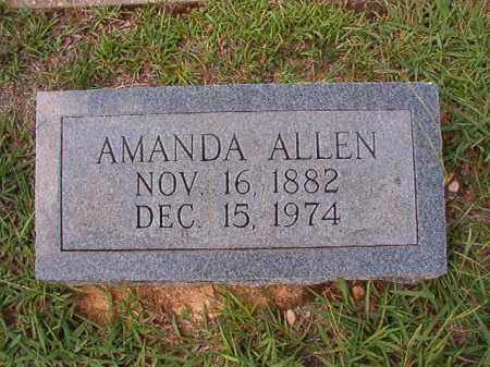 ALLEN, AMANDA - Dallas County, Arkansas | AMANDA ALLEN - Arkansas Gravestone Photos