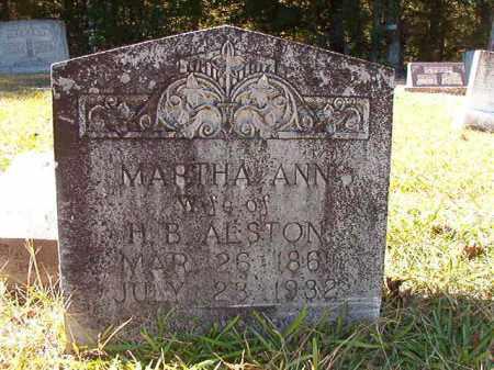 ALSTON, MARTHA ANN - Dallas County, Arkansas | MARTHA ANN ALSTON - Arkansas Gravestone Photos