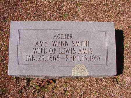 AMIS, AMY WEBB - Dallas County, Arkansas | AMY WEBB AMIS - Arkansas Gravestone Photos