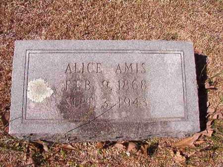 AMIS, ALICE - Dallas County, Arkansas | ALICE AMIS - Arkansas Gravestone Photos