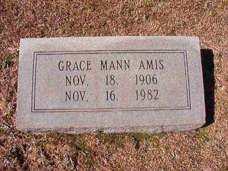 MANN AMIS, GRACE - Dallas County, Arkansas | GRACE MANN AMIS - Arkansas Gravestone Photos