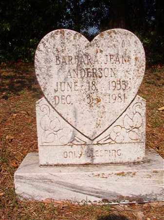 ANDERSON, BARBARA JEAN - Dallas County, Arkansas | BARBARA JEAN ANDERSON - Arkansas Gravestone Photos