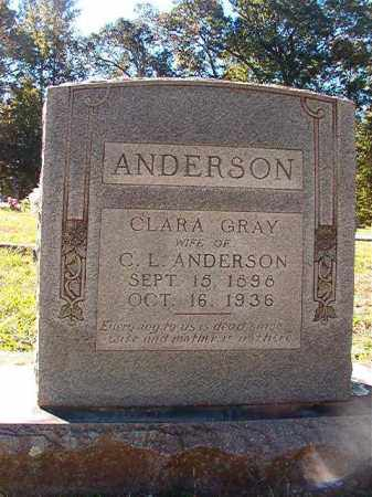 ANDERSON, CLARA - Dallas County, Arkansas | CLARA ANDERSON - Arkansas Gravestone Photos