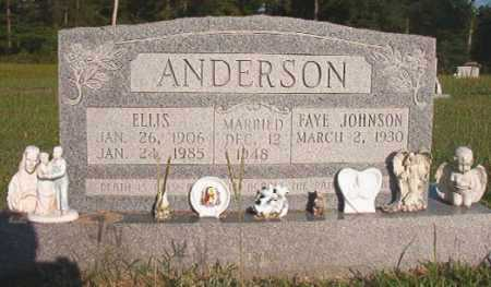 ANDERSON, ELLIS - Dallas County, Arkansas | ELLIS ANDERSON - Arkansas Gravestone Photos