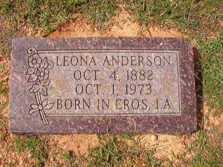 ANDERSON, LEONA - Dallas County, Arkansas | LEONA ANDERSON - Arkansas Gravestone Photos